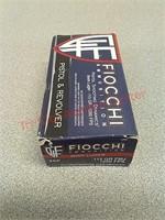 50 rds Fiocchi 9mm luger fmj ammo ammunition