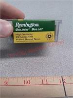 100 rds Remington 22 lr ammo ammunition