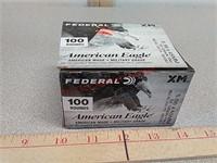 100 rds Federal 5.56 fmj ammo ammunition