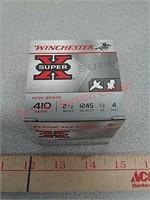 25 rds 410 high brass shotgun shells