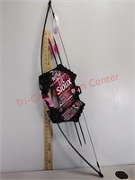 New Lil Sioux jr. Archery set bow and arrows