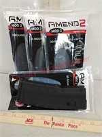 4 new amend2 AR-15 30 round rifle magazines 5.56