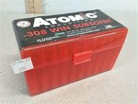 50 rds Atomic 308 win subsonic ammo ammunition i