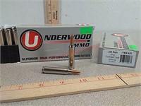 40 rds Underwood 223 REM ammo ammunition