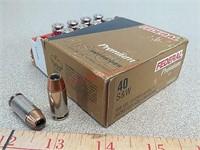 20 rds Federal 40 S&W jhp Hydra-Shok ammo