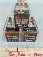 150 rds Hornady Critical Defense 22 wmr ammo
