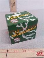 500 rds Remington 22LR ammo Thunderbolt