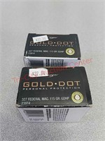 40 rounds 327 Federal mag ammo ammunition