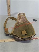 Camouflage sling gear bag