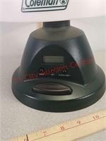 Like new Coleman battery power lamp / alarm clock