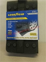 New Goodyear vehicle emergency traction mats set