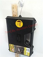 New padded handgun plastic case with closet