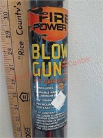 New fire power blow gun kit w/darts