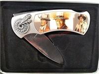 John Wayne folding pocket knife