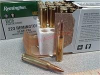200 rds Remington UMC 223 REM ammo ammunition FMJ