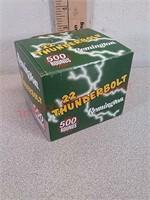 500 rds Remington 22LR Thunderbolt ammo