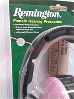 New Remington female hearing protection