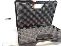 New padded handgun pistol plastic case with