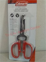 New Coleman 12 in 1 Camp scissors multi-tool