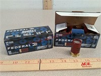 20 rds Federal 12 gauge shorty shotshell shotgun