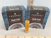50 rds Federal 20 gauge shotgun shells shot