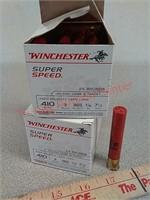 50 rds Winchester 410 gauge shotgun shells super