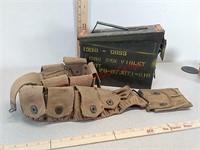 Ammon can & magazine pouch belt