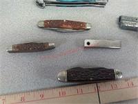 Pocket knives & etc