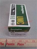 50rds 223 fmj Remington ammo ammunition