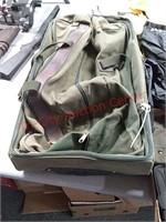 Rain gear, rucksack, etc