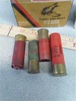 46- assorted 12ga shotgun shotshells