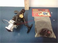Lew's Speed Spin Fishing Reel & cover