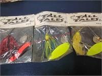 Tall Tales spinner bait single & tandem blades