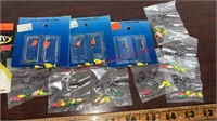 Fishing Tackle- Jigs, Spinners, ice Worms, etc