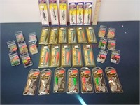 Fishing lures, spinners & tubes