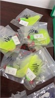 New Fishing Lures, Jigs, Weighted Jigs, etc.
