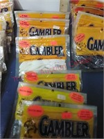 Gambler plastic fishing lures