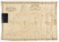 1862 Map of Virginia, Richmond