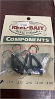 New Fishing Jigs, Components, Spinners, & Tail