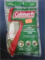 New Coleman lantern mantles, twine & funnel