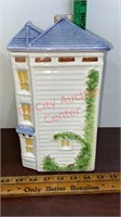 Avon Townhouse Canister Collection w/ Boxes