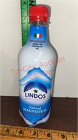 Lindos Magnesium Carbonated Water. 3 Cases of 6