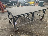 4 x 8 Rolling Table