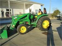 John Deere Tractor 4044M D170 95 Hours - 5%