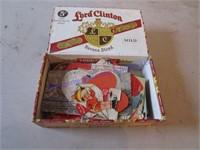 OLD VALENTINES IN CIGAR BOX