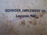 JOHN DEERE SCHROER IMPL MEMO BOOK