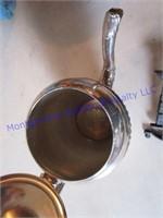 GRANITE TEAPOT & PAN