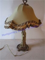 HEAVY ASIAN STONE LAMP