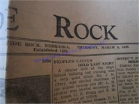 GUIDE ROCK ADVERTISING