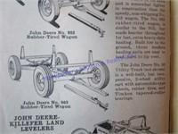 1949 JOHN DEERE POCKET LEDGER